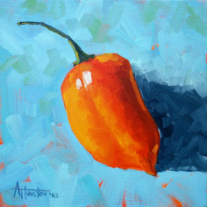 El Habanero - Impressionist Painting by Adam Houston