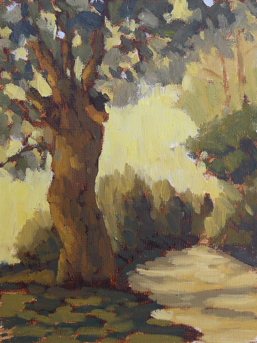 In Search of Subtle - Impressionist Painting by Adam Houston